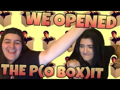 WE HAVE A P.O BOX! | KMREACTS