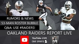 Oakland Raiders Report LIVE With Chat Sports' Mitchell Renz (8/18/2019)