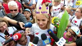 Justyna Święty-Ersetic. Przywitanie w Raciborzu