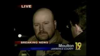 Moulton Alabama Firefighter Deaths Live Shot