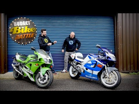 Budget Bike Battle: ZX-7R v SRAD