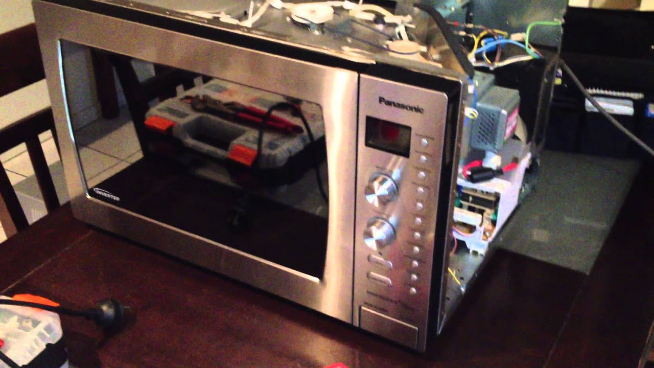 "Panasonic Inverter Microwave Oven ""Made in Japan""... well, not really! - YouTube"