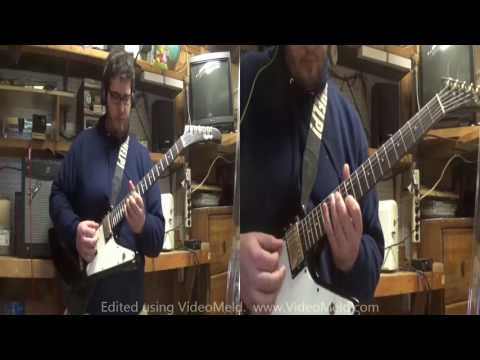 Cuts Marked in the March of Men Coheed and Cambria Cover Both Guitars