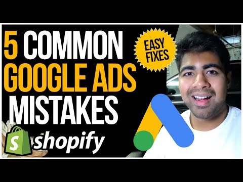 5 Common Google Shopping ADs Mistakes With Shopify Dropshipping (COST ME HUNDREDS) thumbnail