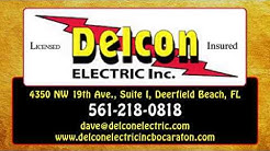 New Construction Electrical Work | Delray Beach, FL - Delcon Electric, Inc.