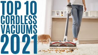 Top 10: Best Cordless Stick Vacuum Cleaners of 2021 / Hand Vacuum Cleaner / Lightweight, Portable