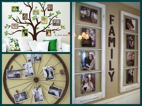 Diy Photo Display Ideas Creative Photo Wall Decor