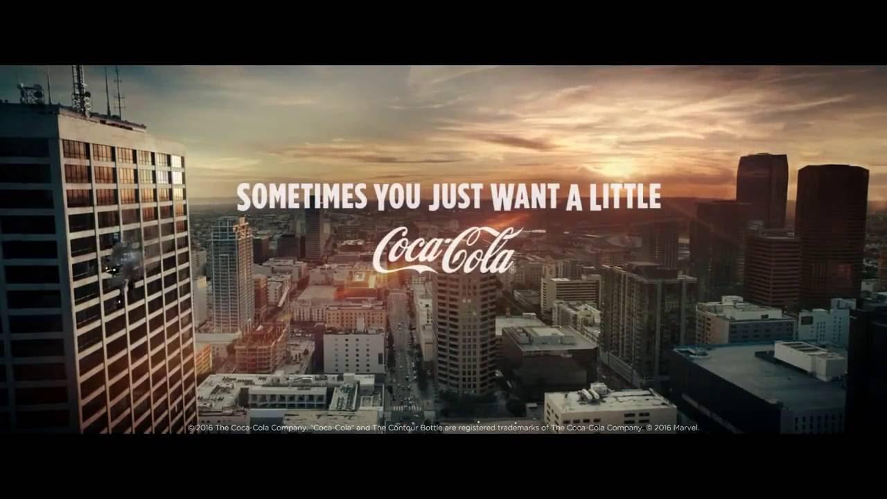 Coca - Cola - Кока - Кола Стань сильней как  Халк и Человеком Муравьем