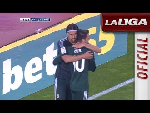Gol de Khedira (2-3) en el Real Sociedad - Real Madrid - HD