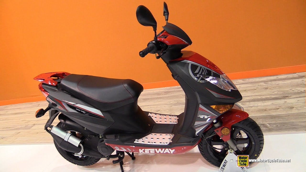 2015 keeway ry6 50 sport scooter walkaround 2014 eicma milan motorcycle exhibition youtube. Black Bedroom Furniture Sets. Home Design Ideas