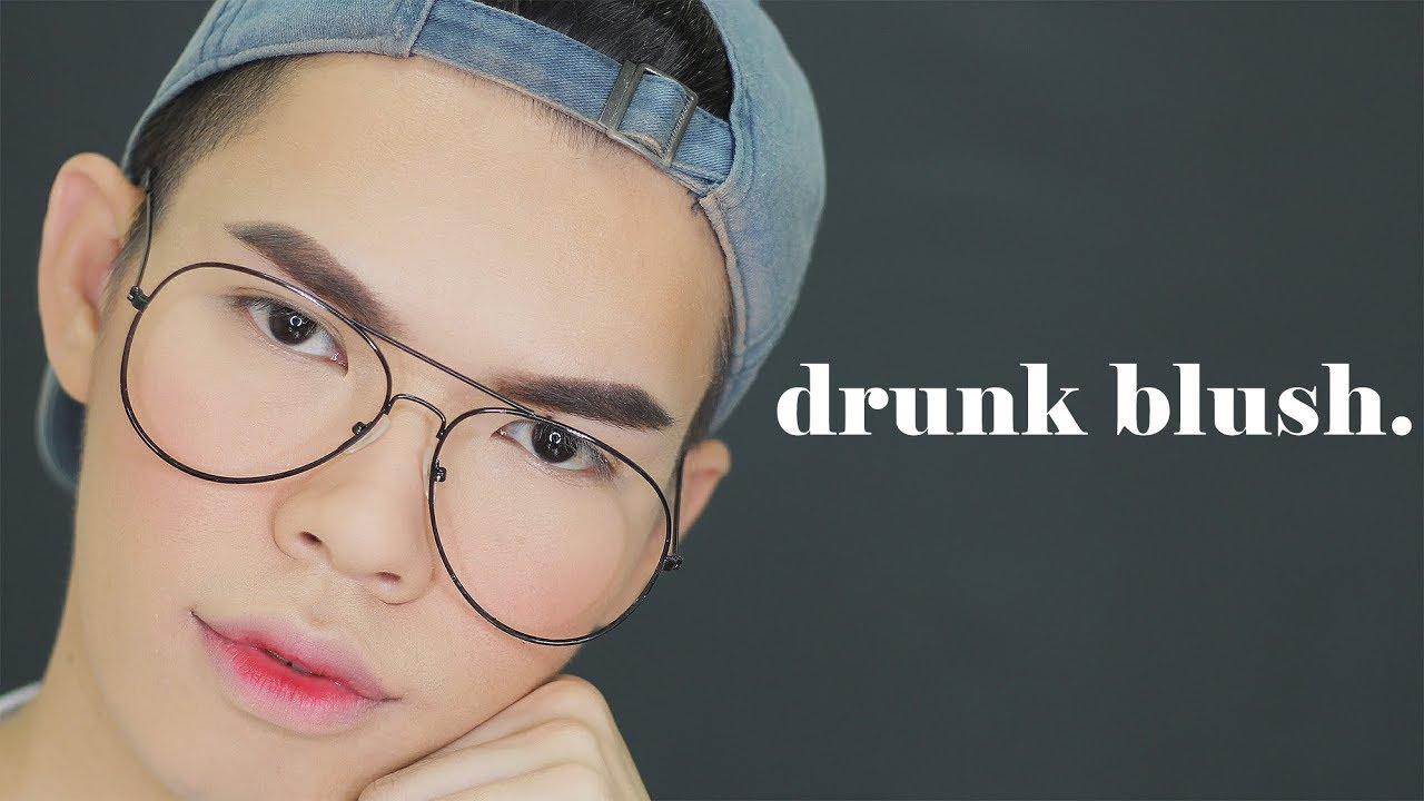 Drunk makeup tutorial