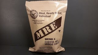 2008 MRE Vomelet Review (Veggie Omelet) One of the Worst Meal Ready To Eat Menus Taste Test