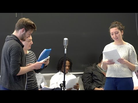 Michigan's World Class: Students Produce Old-Time Radio Dramas