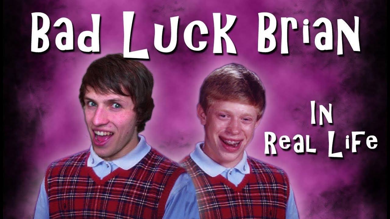 Bad Luck Brian In Real Life Luke And Harri Youtube