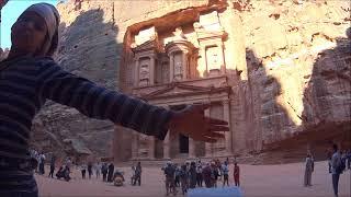 早朝のエル・ハズネ@ペトラ遺跡 El Khazneh Early In The Morning @ Petra