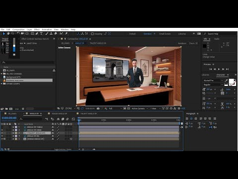 After Effects Template Virtual Studio 8 Tutorial | Bluefx