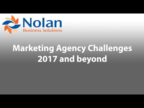 Marketing Agency Challenges 2017 and Beyond