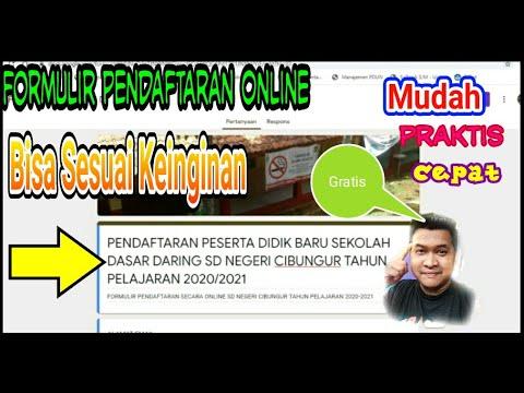 cara-membuat-formulir-pendaftaran-online