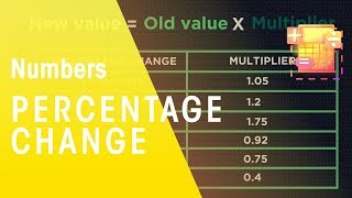 Percentage Change | Numbers | Maths | FuseSchool