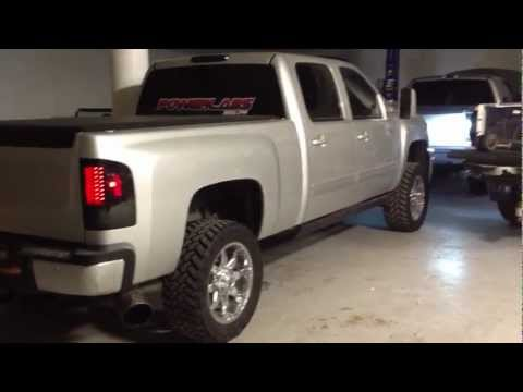 2011 LML duramax tuned with exhaust