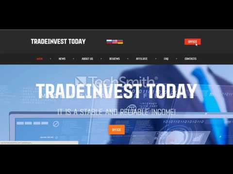 Tradeinvest.today.internetten para kazanmak