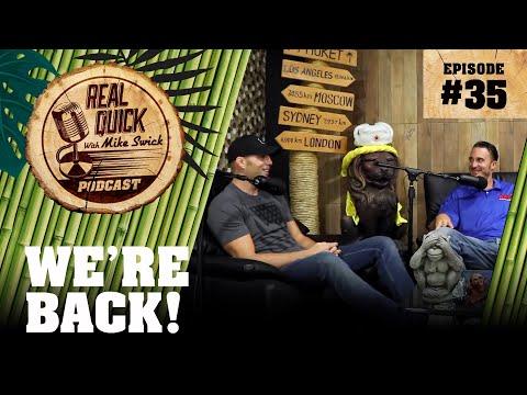 EP #35: We're Back! (Khabib vs Conor, Bilzerian, Liddell vs Ortiz, & More!)