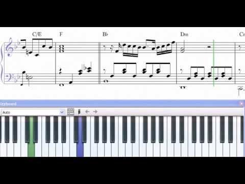 unicornio azul partitura piano pdf