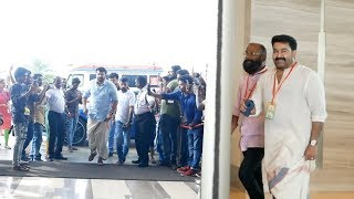 Mammootty and Mohanlal Friendship Scenes from Amma General Body Meeting 2019