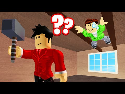 HIDING From The BEAST On The CEILING! (Roblox Flee The Facility)