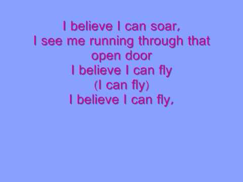 rkellyi believe i can fly with lyrics youtube