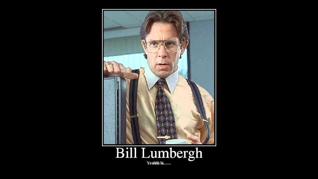 disagree bill lumbergh gary cole office space