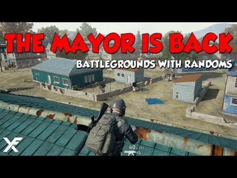 THE MAYOR IS BACK - Battlegrounds w/ Randoms
