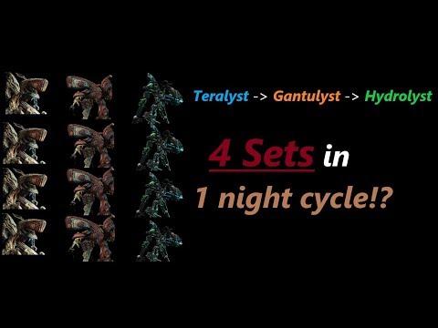 [Warframe] 4x Teralyst/Gantulyst/Hydrolyst Eidolons in 1 night cycle (full video)