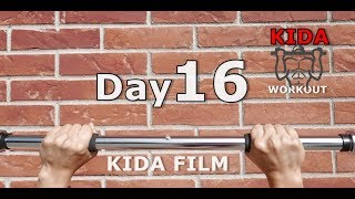 Day 16 /30 Pull-Up Calisthenics Workout Challenge