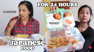 i only ate japanese food for 24 hours | clickfortaz