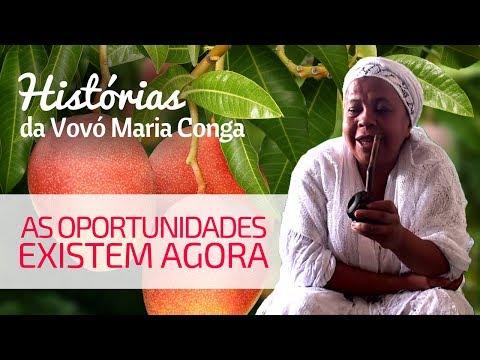 EXISTEM OPORTUNIDADES AGORA | Histórias da Vovó Maria Conga