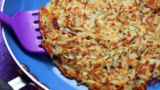 Crispy Hash Browns - Perfect Every Time!