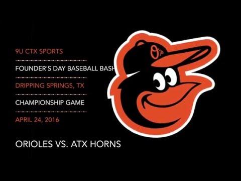 2016.04.24 Orioles vs. ATX Horns