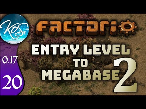 Factorio 0.17 Ep 20: MOVING THE BUS - Entry Level to Megabase 2 - Tutorial Let's Play, Gameplay
