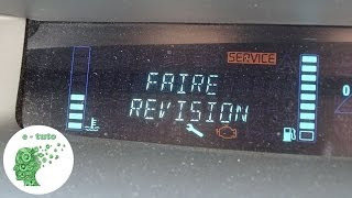 Remise à zero compteur d'entretien/révision/vidange Renault.
