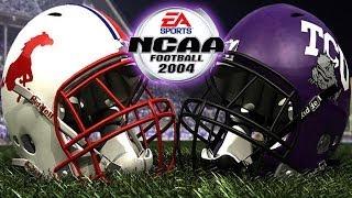 NCAA Football 2004 - (PS2) - SMU at TCU