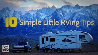 10 Helpful RVing Tips and Tricks