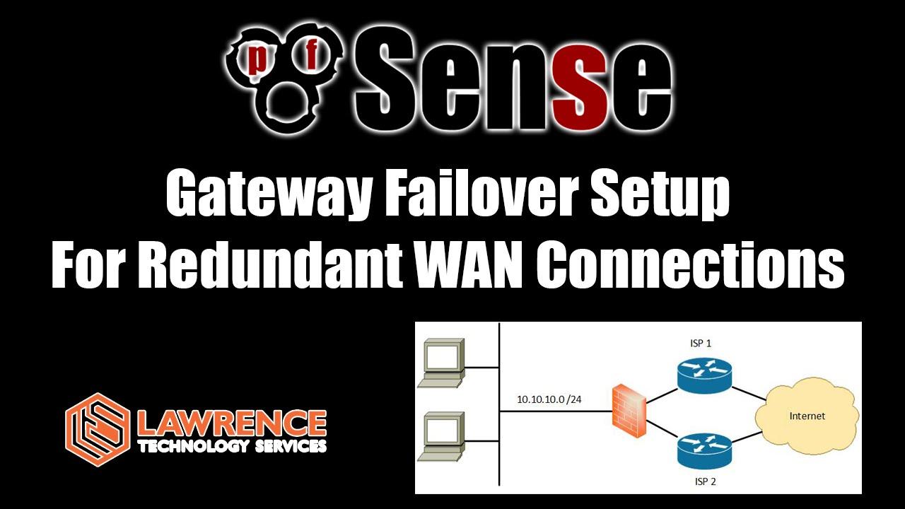 medium resolution of pfsense dual wan failover setup guide for redundant wan connections youtube