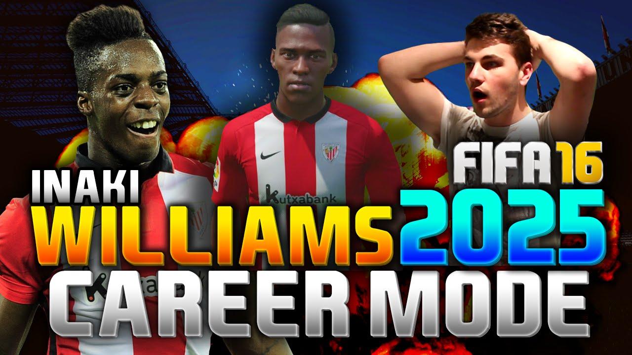 Fifa 16 Inaki Williams In 2025 Career Mode Youtube