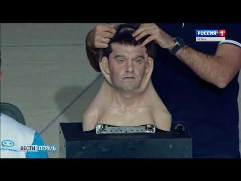 В прямой эфир «России-24» вышел человекообразный робот