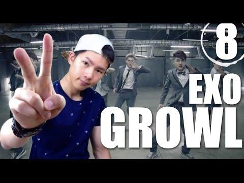 EXO - Growl | Step By Step Dance Tutorial Ep.8
