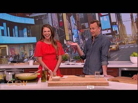 Sutton Foster Talks About Her New Baby on The Chew