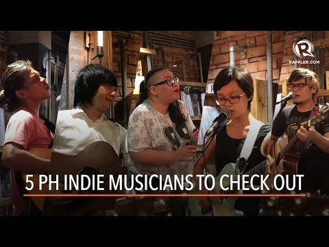 5 Philippine indie musicians to check out