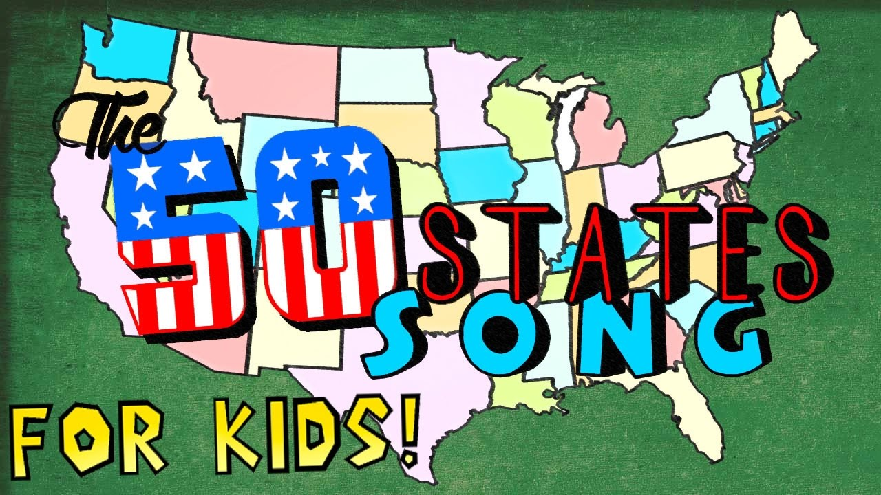 The  States Song For Kids YouTube - States of america song youtube