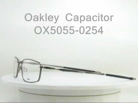 Oakley Capacitor OX5055-0254 Brushed Chrome  eyewear
